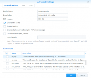 Synology DSM update to 6 1 3 update 6 HTTP Error 500 | FRANK